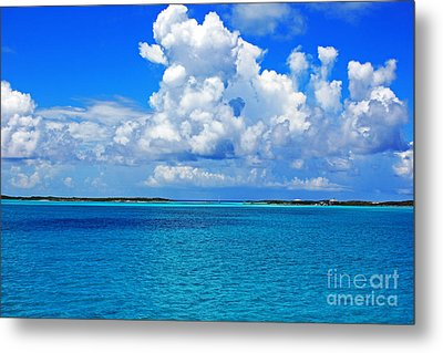 Bahama Blues 5 Metal Print by Alison Tomich