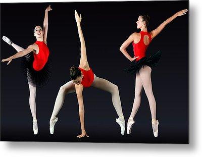 Ballet Dancer Metal Print by Stephen Norris