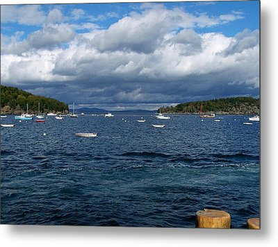 Metal Print featuring the photograph Bar Harbor Me by Gene Cyr