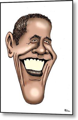 Barack Obama Metal Print by Bill Proctor
