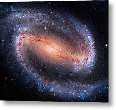 Barred Spiral Galaxy Ngc 1300 Metal Print by Don Hammond