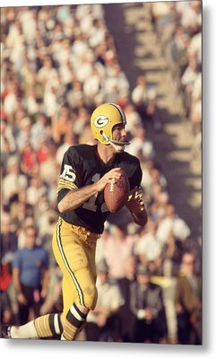 Bart Starr Buying Time Metal Print