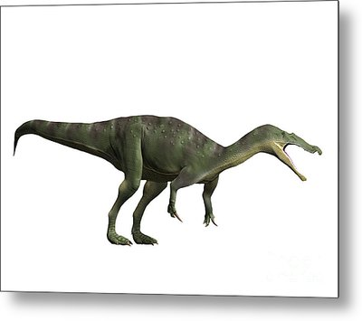 Baryonyx Walkeri, Early Cretaceous Metal Print by Nobumichi Tamara