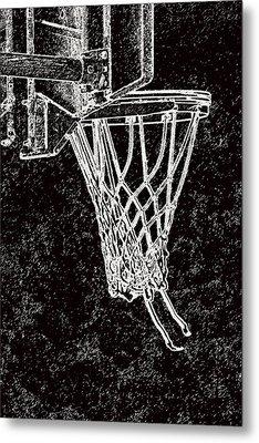 Basketball Years Metal Print by Karol Livote
