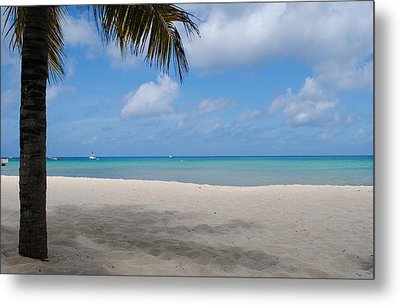 Beach Day Metal Print by Robert  Moss