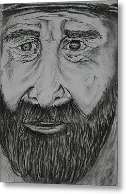 Bearded Man Metal Print by Paul Morgan