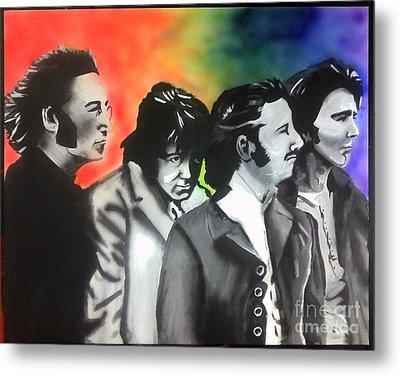 Beatles For Sale Metal Print by Jacob Logan
