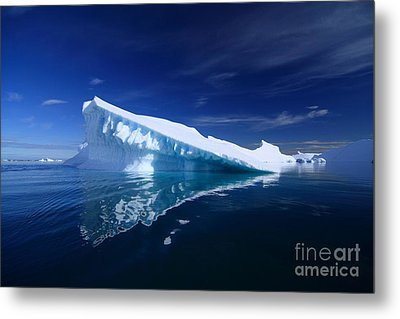 Beautiful Iceberg Metal Print by Boon Mee