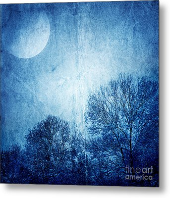 Beautiful Moonlight Photos Metal Print by Boon Mee