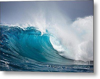 Beautiful Ocean Wave Metal Print by Boon Mee