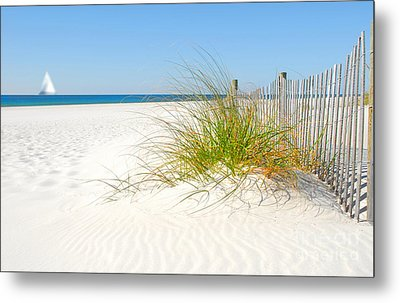 Beautiful Sand Dune Metal Print by Boon Mee