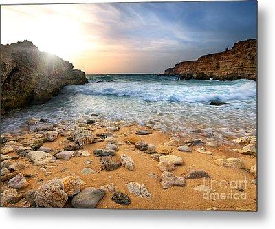 Beautiful Sea Stones Metal Print by Boon Mee