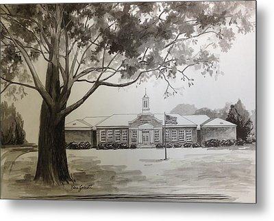 Beechwood School Building Metal Print