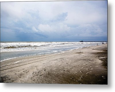 Metal Print featuring the photograph Before The Storm by Sennie Pierson