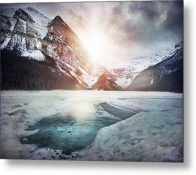 Beginning To Thaw Metal Print by Kym Clarke