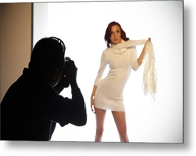 Behind The Scenes Metal Print by Andrew Bailey