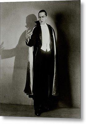 Bela Lugosi As Dracula Metal Print by Florence Vandamm