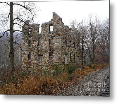 Metal Print featuring the photograph Beverly Chapman's Mill by Jane Ford