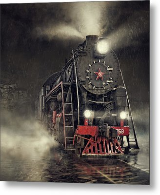 Beyond Express Metal Print
