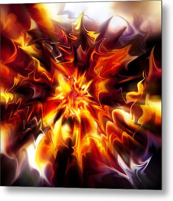 Big Bang Metal Print by Selke Boris