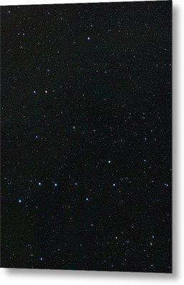 Big Dipper And Ursa Minor Constellation Metal Print