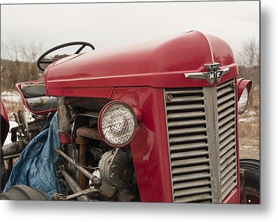 Big Red  Metal Print by Eugene Bergeron