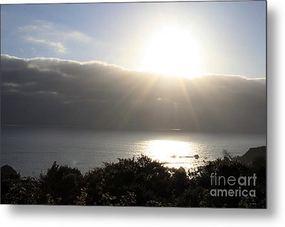 Big Sur Sunset Metal Print by Linda Woods
