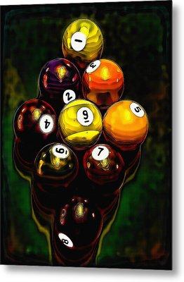 Billiards Art - Your Break 6 Metal Print