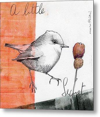 Bird 14 Metal Print by Marco Sivieri