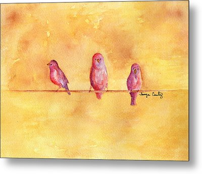 Birds Of A Feather - The Help Metal Print by Tamyra Crossley