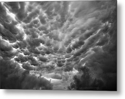 Birth Of A Mammatus Metal Print by Robert FERD Frank