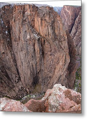 Metal Print featuring the photograph Black Canyon Chasm View by Eric Rundle