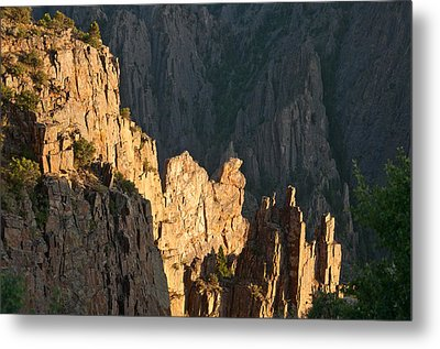 Metal Print featuring the photograph Black Canyon Sitting Camel  by Eric Rundle