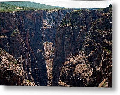 Metal Print featuring the photograph Black Canyon The Narrows  by Eric Rundle