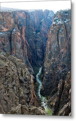 Black Canyon The River  Metal Print