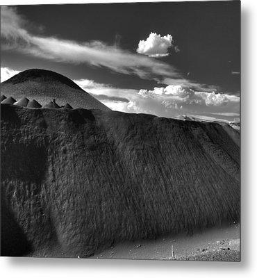 Black Dune Metal Print