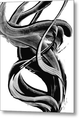 Black Magic 314 By Sharon Cummings Metal Print