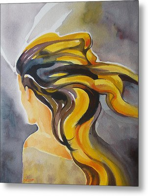 Blowin' In The Wind Metal Print by Patricia Howitt