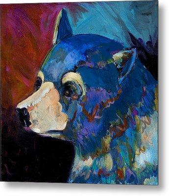 Blue Bear II Metal Print by Bob Coonts