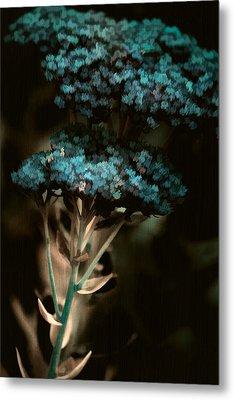 Blue Bouquet Metal Print by Bonnie Bruno