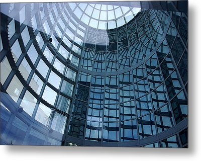 Metal Print featuring the photograph Blue Dome by Lorenzo Cassina