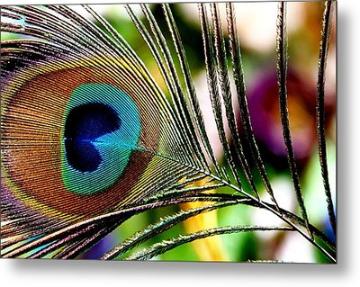 Blue Eye Metal Print by Steve Godleski