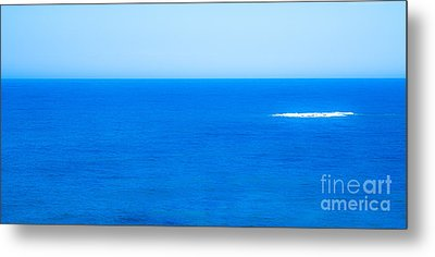 Blue Metal Print by Nabucodonosor Perez