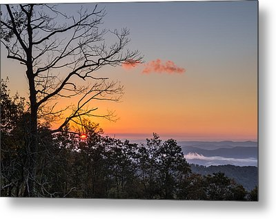Metal Print featuring the photograph Blue Ridge Sunrise by Gregg Southard