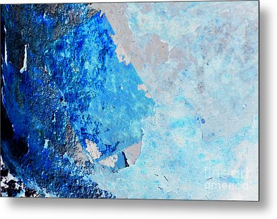 Metal Print featuring the photograph Blue Rust by Randi Grace Nilsberg