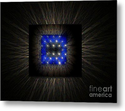 Blues-3 Metal Print by Baljit Chadha