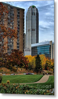Bny Mellon From Duquesne University Campus Hdr Metal Print by Amy Cicconi
