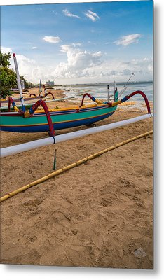 Metal Print featuring the photograph Boats - Bali by Matthew Onheiber