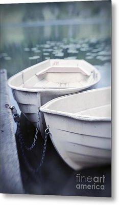 Boats Metal Print by Priska Wettstein