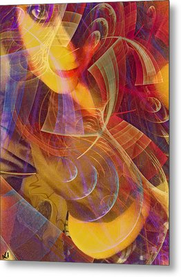 Body Of Art Metal Print by Linda Sannuti
